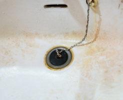 洗面台 赤カビ 掃除