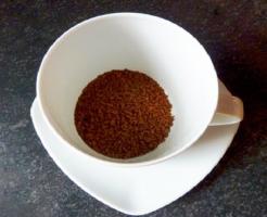 カビ インスタントコーヒー 白い